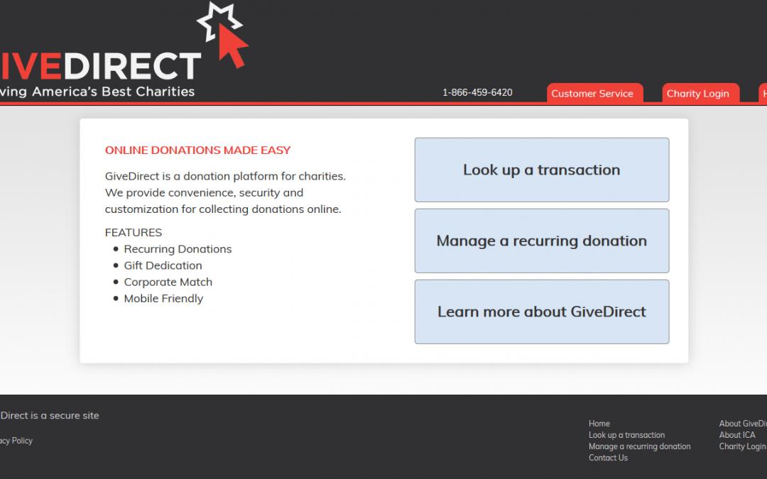 GiveDirect.org