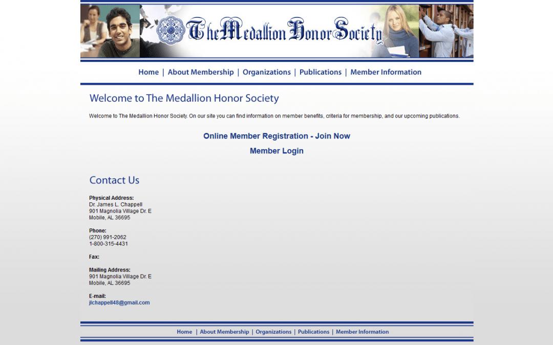 MedallionHonorSociety.com