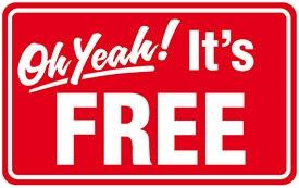 its free